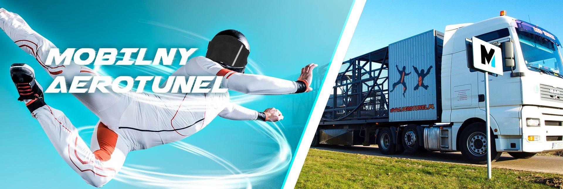 aerotunel slider baner mobilny tunel aerodynamiczny